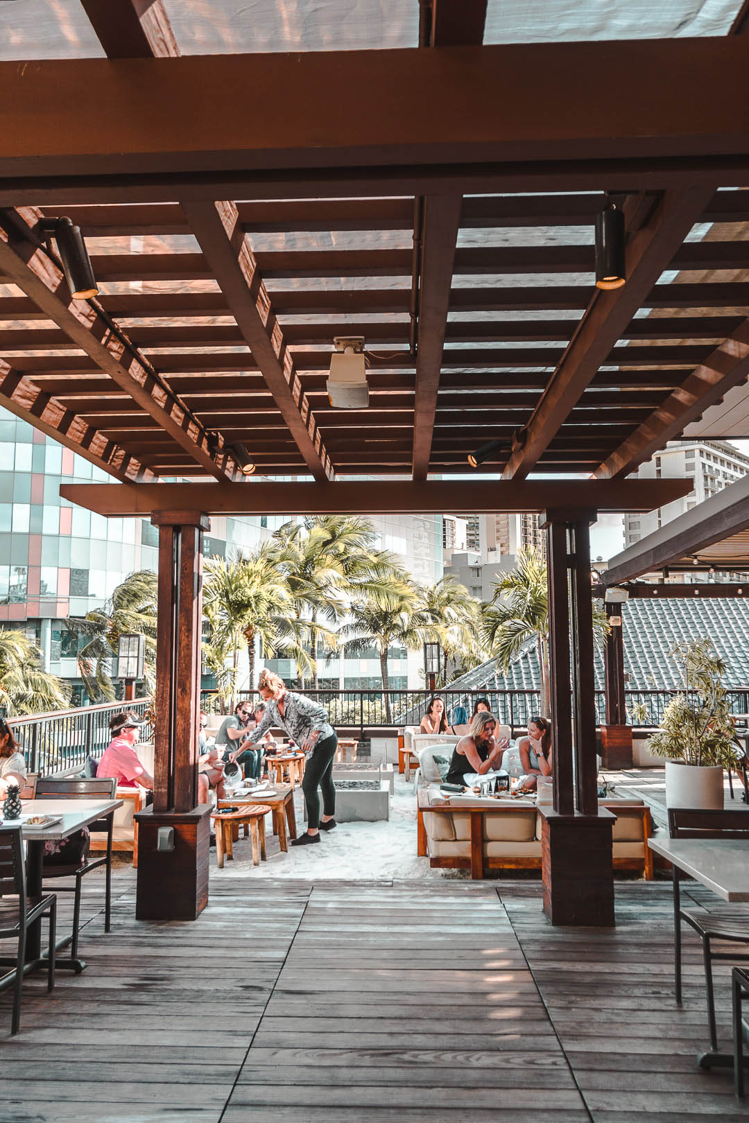 Tommy Bahama's Rooftop Patio