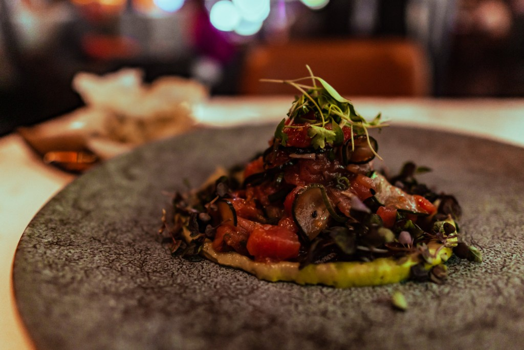 Tuna Tartar at Spago Restaurant (It was okay)