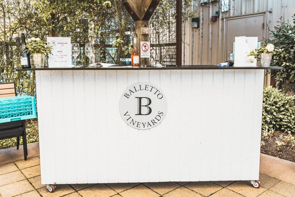 Balletto's Outdoor Bar