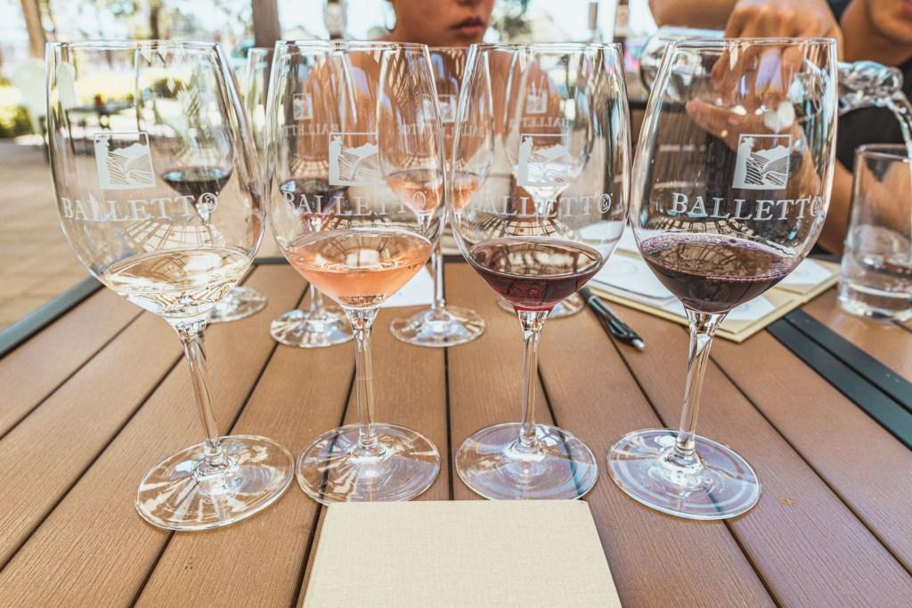 Balletto Sonoma Wine Tasting BOGO Free with Visa
