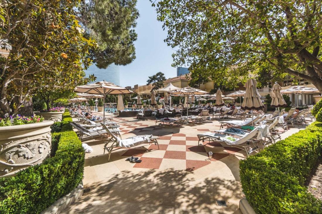 Bellagio Pool Area