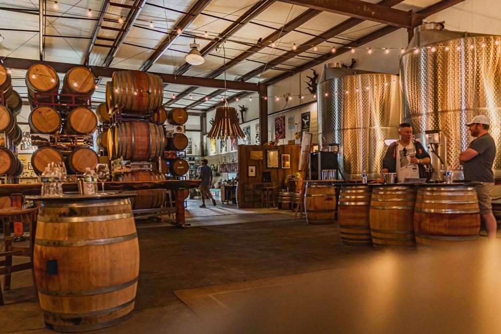 Kokomo Winery Wine Tasting Area