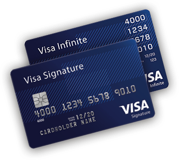 Visa Signature and Visa Infinite Cards