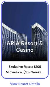 Aria Exclusive Rates
