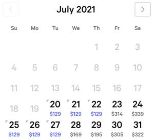 Mlife Gold Calendar