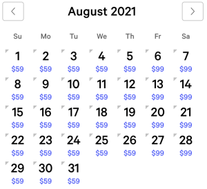 MGM Grand Exclusive Rates August 2021
