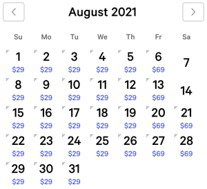 Excalibur Exclusive Rates August 2021