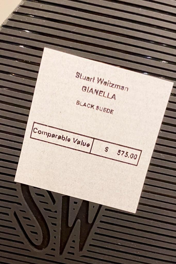 Stuart Weitzman Outlet Gianella Boot Price