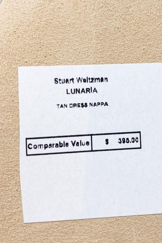 Stuart Weitzman Outlet Lunaria Sandals Price