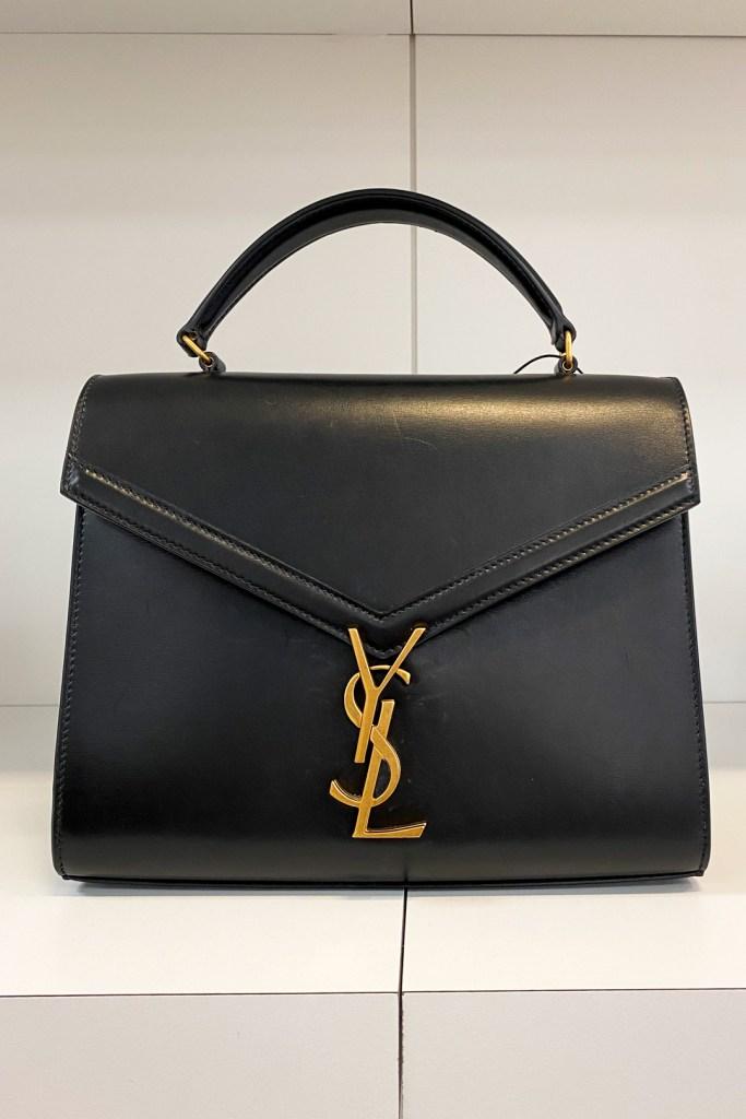 Saint Laurent Cassandra Medium Top Handle Bag