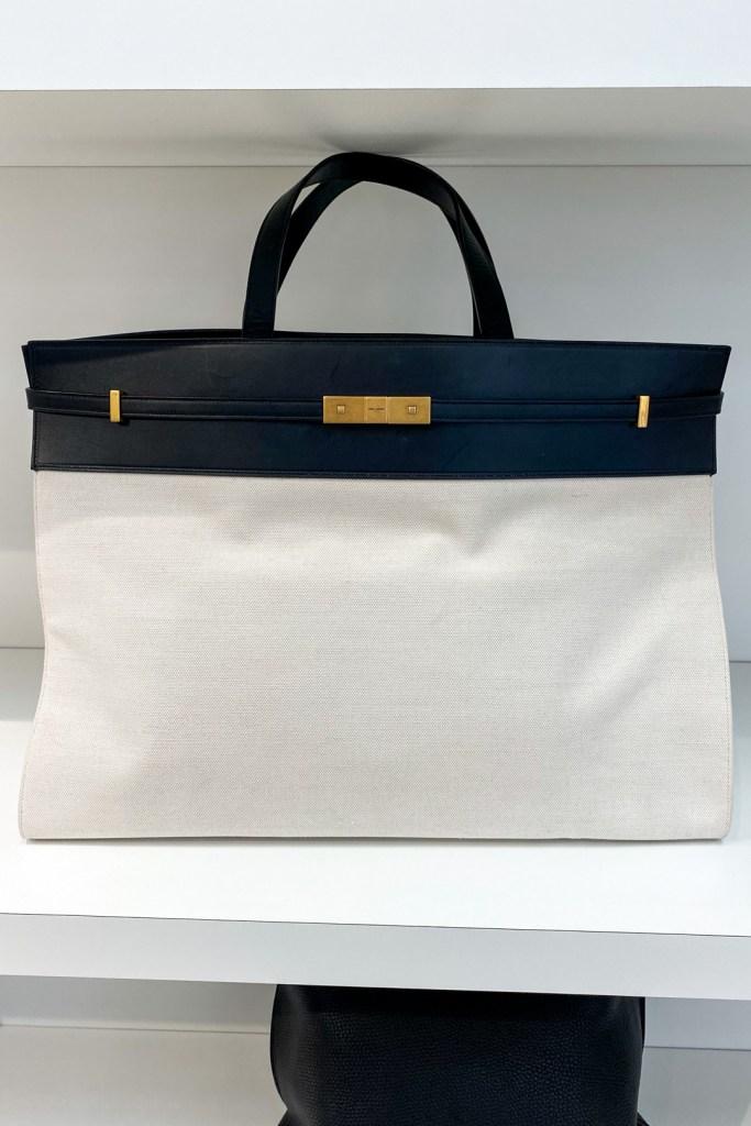 Saint Laurent Twist Lock Shopping Bag