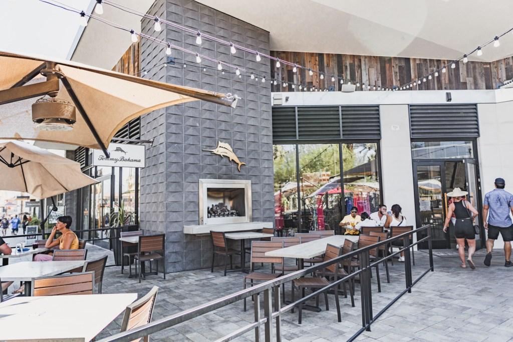 Tommy Bahama Marlin Bar Outdoor Seating
