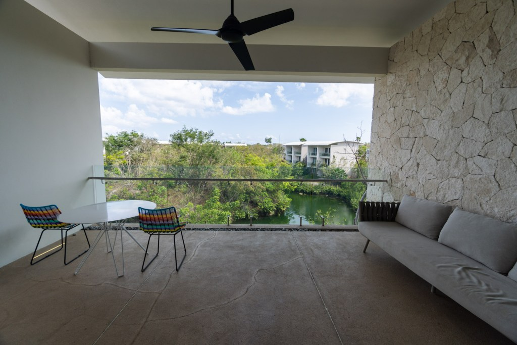 Andaz Mayakoba Lagoon View Suite Main Patio