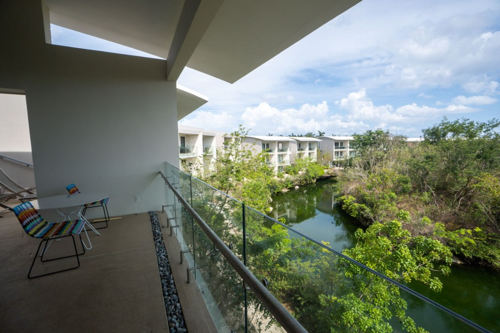 Andaz Mayakoba Lagoon View Suite Main Patio View