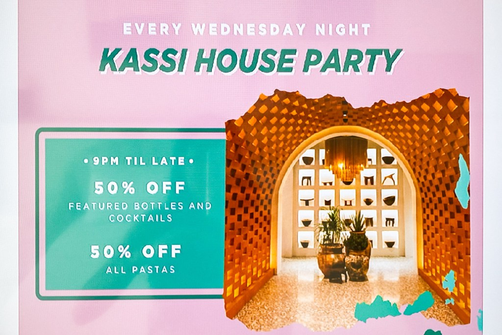 Kassi Beach House Party TV Advertisement