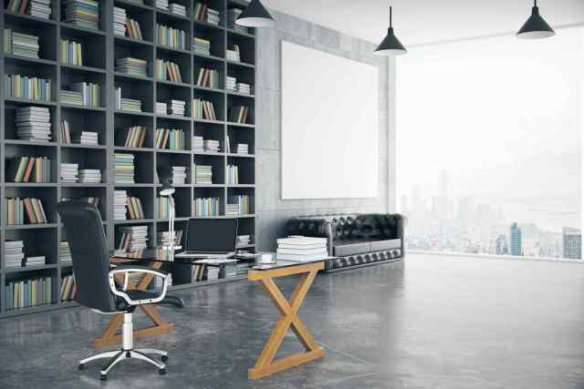 Your office bookshelf