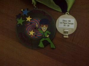 disco run medals