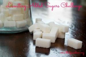 limiting added sugars challenge