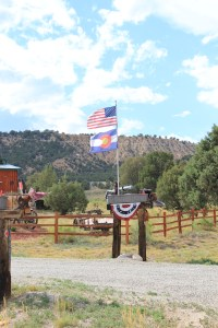 turnaround point at the ranch