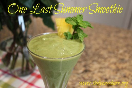 last summer smoothie 2 the lyons share image