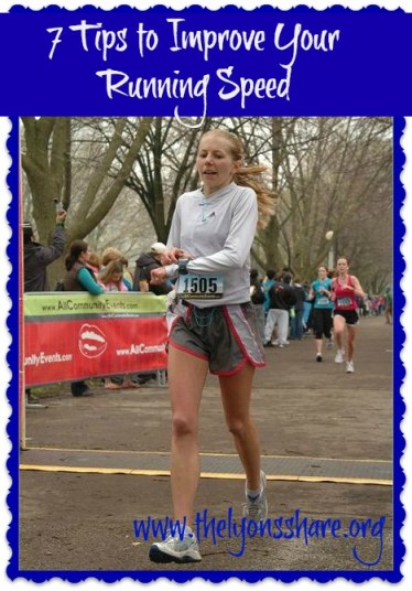 7 Tips to Improve Your Running Speed