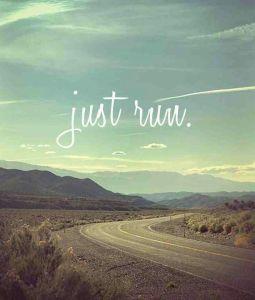 just run - blog 10.13.13