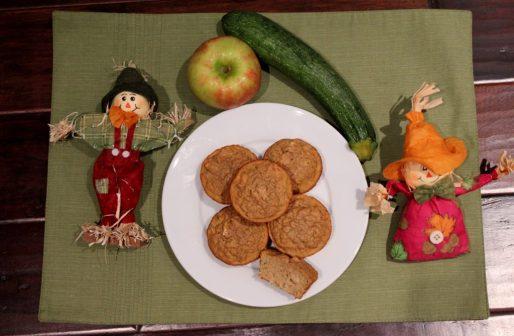 zucchini apple muffins 3