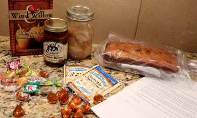 foodie pen pals from deb november