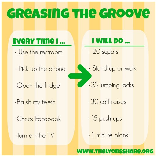 greasing the groove