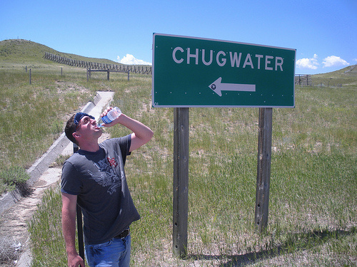 chug-water