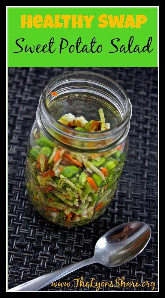 Healthy Swap Sweet Potato Salad 2