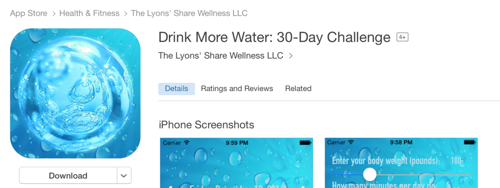 lyons share app on iTunes