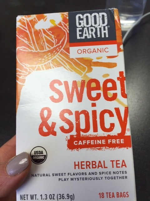 sweet and spicy tea