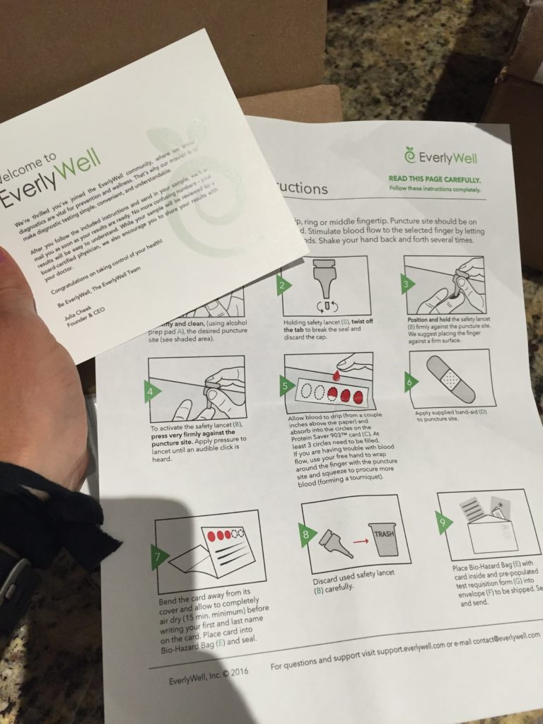 everlywell instructions