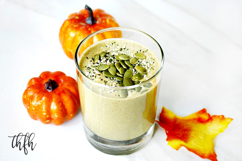 healthy pumpkin protein smoothie