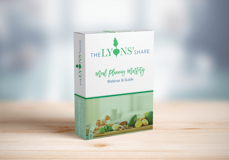 Meal Planning Mastery Mockup