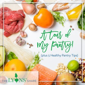 healthy pantry tips