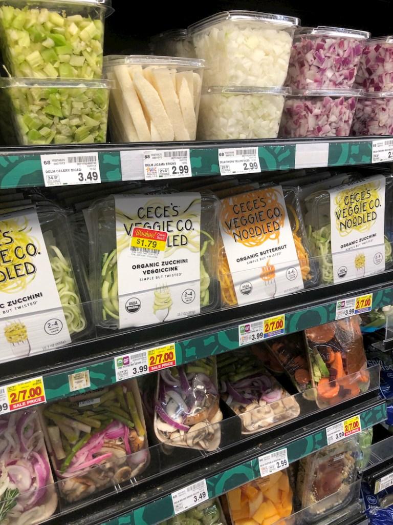 Kroger veggie noodles