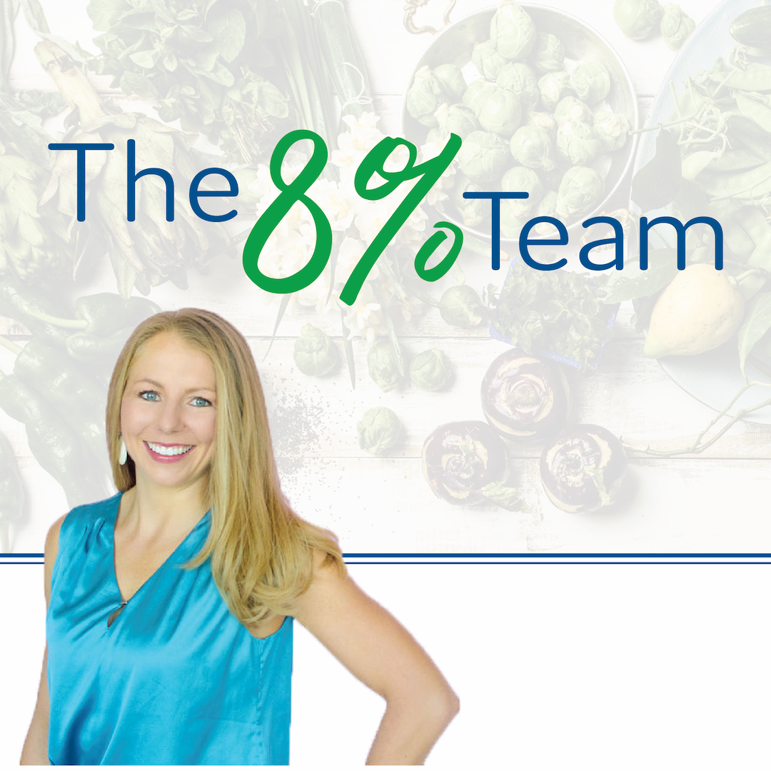 Join The 8% Team for Accountability to Reach Your Health Goals!