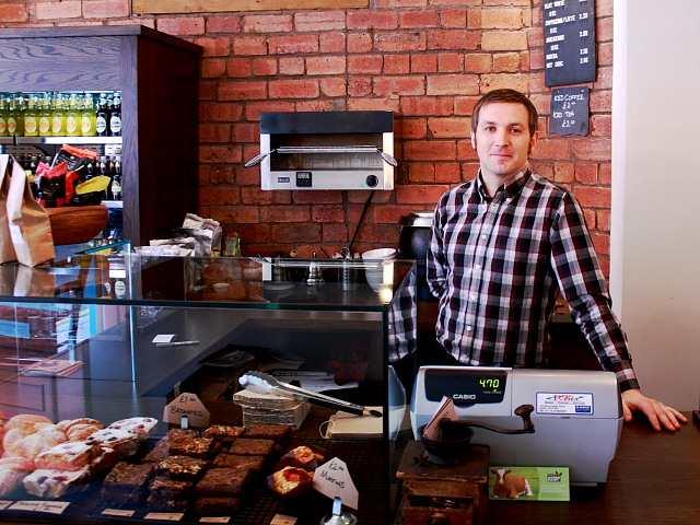 Laynes Espresso coffee shop Leeds