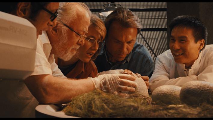 La creazione dei dinosauri nel film di Spielberg