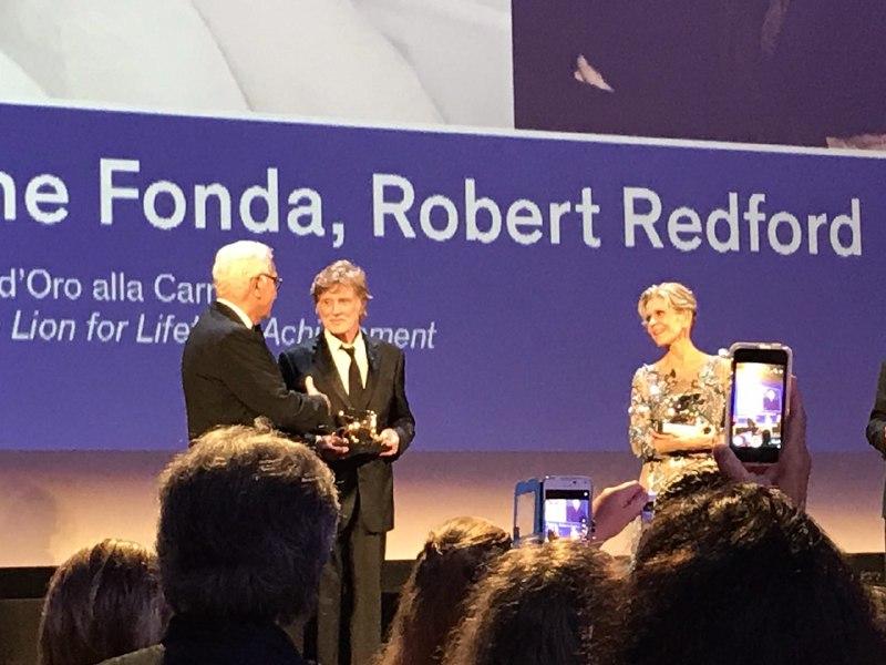 Venezia 74 Robert Redford Jane Fonda our souls at night