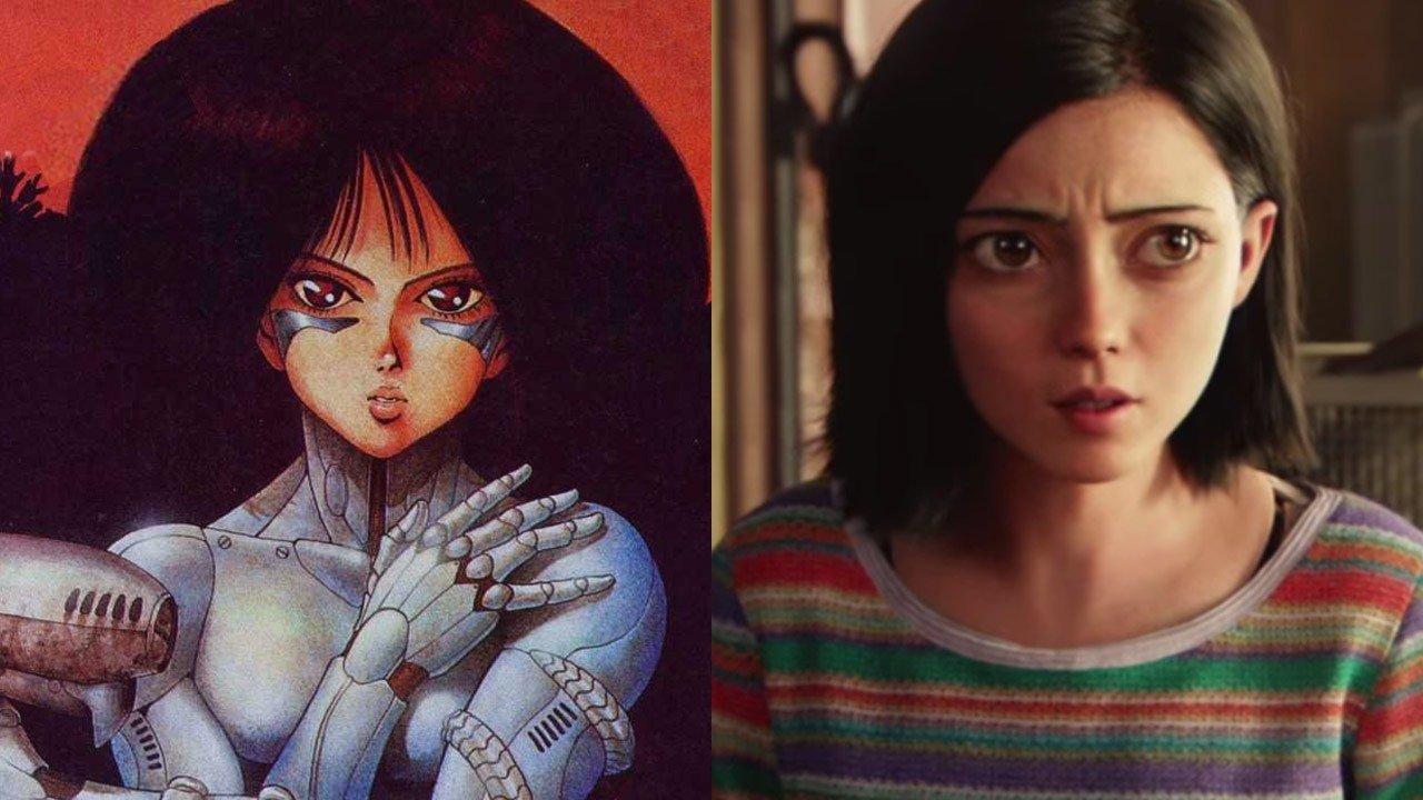 Alita: manga vs film