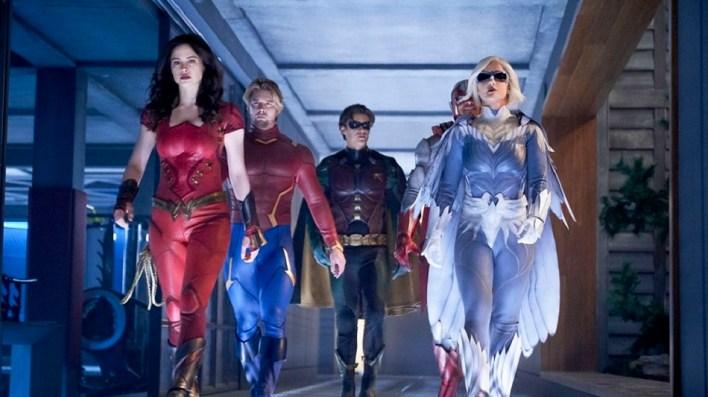 Wonder Girl, Aqualad, Robin, Hawk e Dove