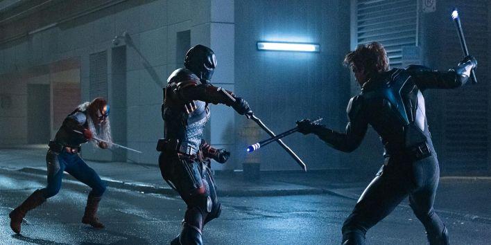 Rose, Deathstroke e Nightwing
