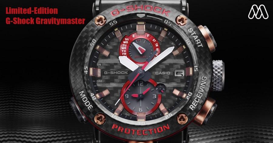 Limited-Edition G-Shock Gravitymaster อีกหนึ่งความทนทานที่ยากต่อการทำลาย!!