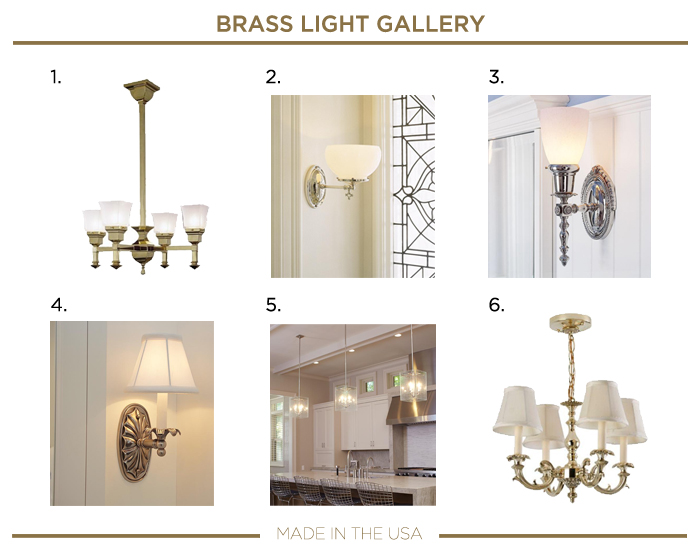 Made in the USA plumbing fixtures_BRASS LIGHT GALLERY