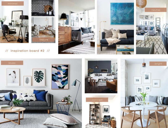 decorating with the color blue teal inspiration board