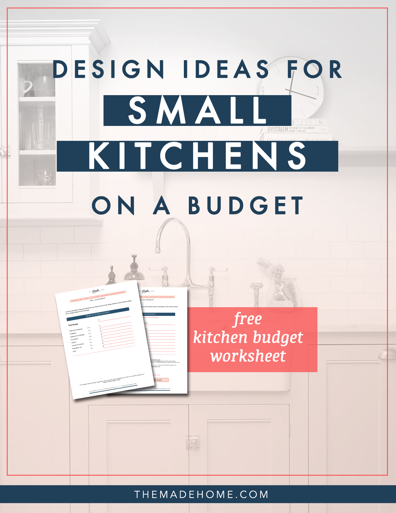 Get Small Kitchen Design Ideas On A Budget And A Free