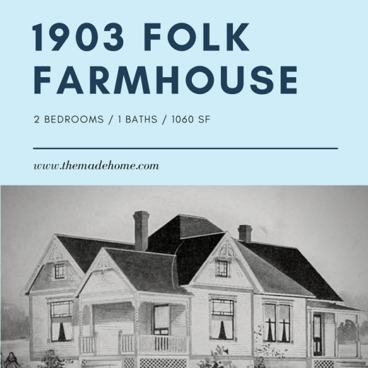 1903 Folk Victorian Farmhouse